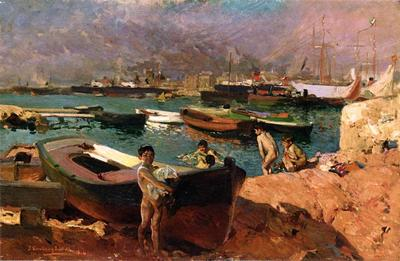 Sorolla y Bastida Joaquin Valencia s Port