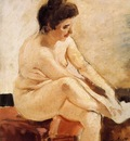 Sorolla y Bastida Joaquin Seated Nude