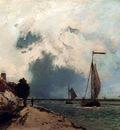 Jongkind Johan Barthold L Arrivee Au Port