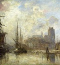 Jongkind Johan Berthold The Port of Dordrecht