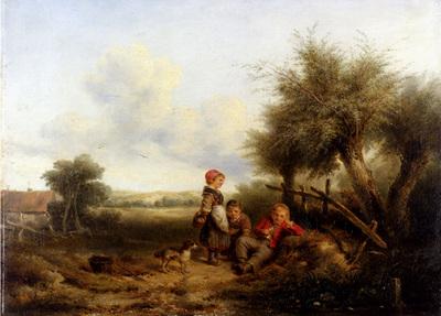 Kate Johan Marie Henri Little Gossips