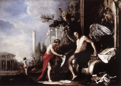 SCHONFELD Johann Heinrich Allegory Of Time