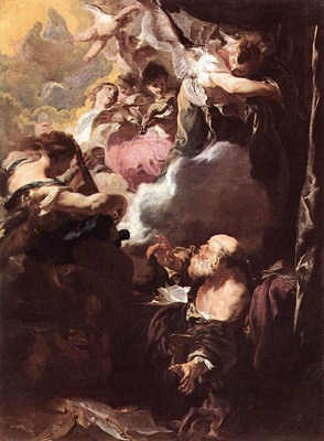 LISS Johann The Ecstasy Of St Paul
