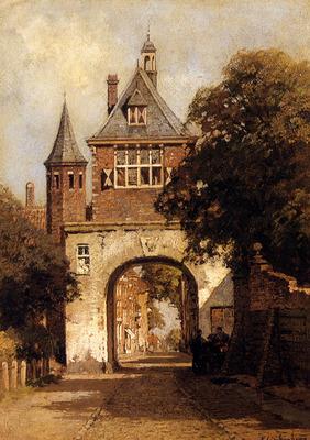 Klinkenberg Johannes Christiaan Karel A City Gate