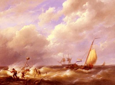 Koekkoek Willem A Sea Piece