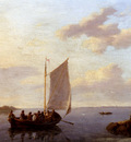Koekkoek Johannes Hermanus Off The Shore