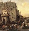LINGELBACH Johannes Roman Market Scene