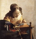 Vermeer The Lacemaker