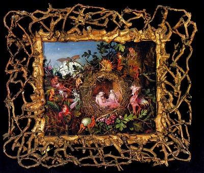 Fitzgerald John Anster Fairies In A Birds Nest
