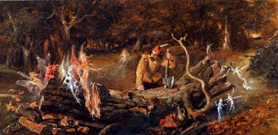 Fitzgerald John Anster The Woodcutters Misfortune