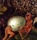 fitzgerald john anster fairies in a birds nest detail
