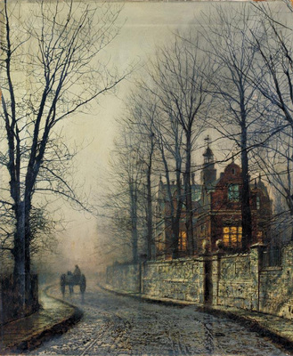 Grimshaw Atkinson November Moonlight