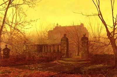 Grimshaw John Atkinson Autumn Morning