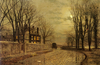 Grimshaw John Atkinson The Turn Of The Road