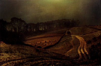 Grimshaw John Atkinson Under The Harvest Moon