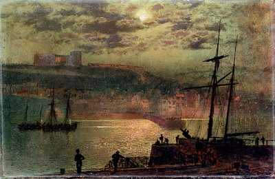 Grimshaw John Atkinson Whitby From Scotch Head