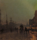 Grimshaw John Atkinson Gourock Near The Clyde Shipping Docks