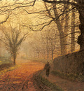 Grimshaw John Atkinson November Afternoon Stapleton Park