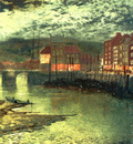 Grimshaw John Atkinson Whitby Docks