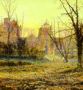 Grimshaw John Atlkinson Evening Knostrop Old Hall