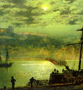 Grimshaw John Atlkinson Whitby From Scotch Head