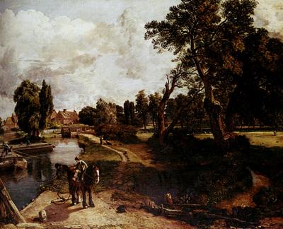 Constable John Flatford Mill