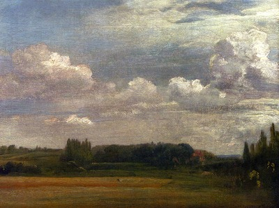 Constable John View Towards The Rectory From East Bergholt House