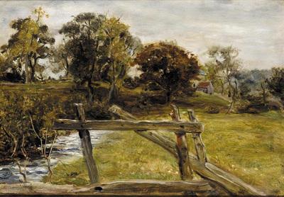 Millais John Everett View Near Hampstead