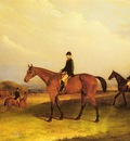 Ferneley John A Jockey On A Chestnut Hunter