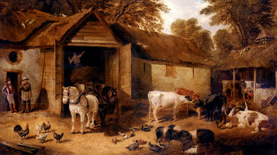 Herring Jnr  John Frederick The Farmyard3