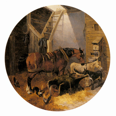 Herring Jnr  John Frederick The Farmyard4