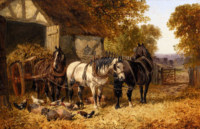 Herring John Frederick The Hay Cart
