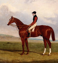 Herring John Frederick Flexible Elis A Chestnut Racehorse With John Day Up