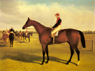 Herring Sr John Frederick Don John The Winner Of The 1838 St Leger With William Scott Up