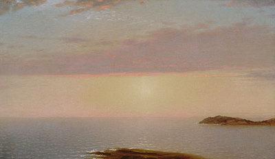 Kensett John F Sunset