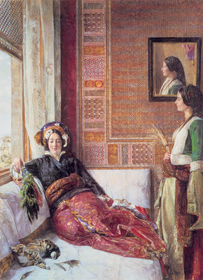 Lewis JF Harem Life in Constantinople