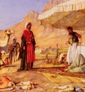 Lewis John Frederick A Frank Encampment In The Desert Of Mount Sinai