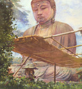 The Great Statue of Amida Buddha at Kamakura