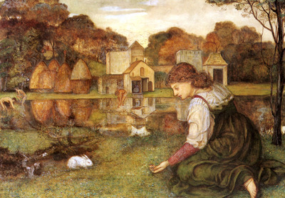 Stanhope John Roddam Spencer The White Rabbit