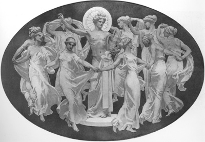 Sargent Apollo and the Muses