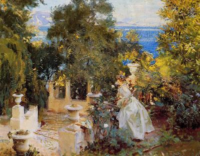 Sargent John Singer A Garden in Corfu