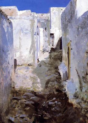 Sargent John Singer A Street in Algiers