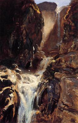 Sargent John Singer A Waterfall