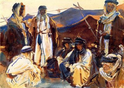 Sargent John Singer Bedouin Camp
