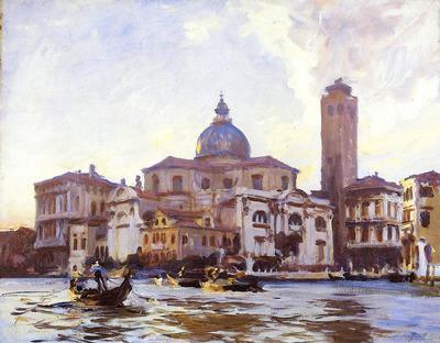 Sargent John Singer Palazzo Labia and San Geremia Venice