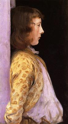 Sargent John Singer Portrait of Dorothy Barnard