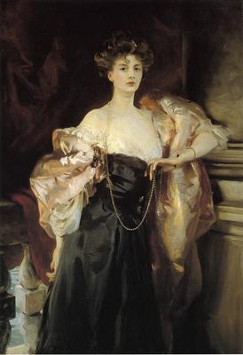 Sargent John Singer Portrait of Lady Helen Vincent Viscountess d Abernon