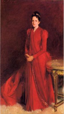 Sargent John Singer Portrait of Mrs  Elliott Fitch Shepard aka Margaret Louisa Vanderbilt