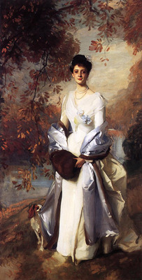 Sargent John Singer Portrait of Pauline Astor