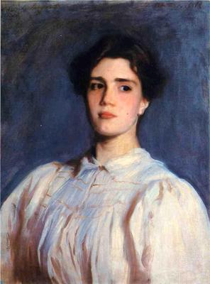 Sargent John Singer Portrait of Sally Fairchild